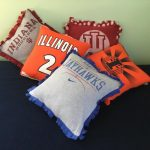 College T-Shirt Pillows