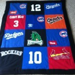sports t shirt quilts
