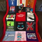 High School T-Shirt Memory Quilt