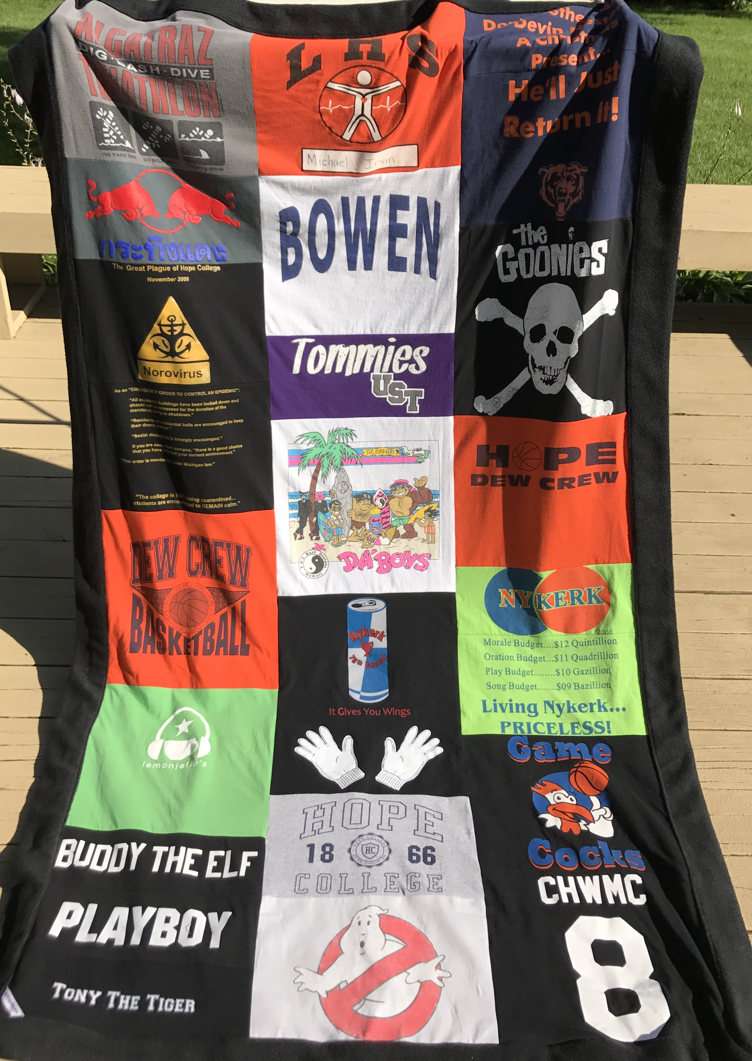Large T-Shirt Blankets
