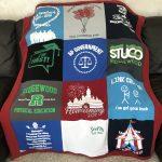 Ridgewood High School - Small Lap Quilt